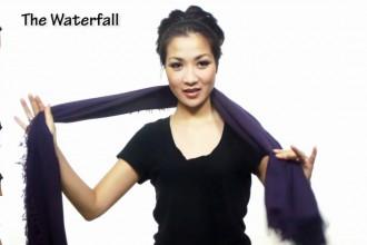 Tutorial: 25 modi per indossare una sciarpetta