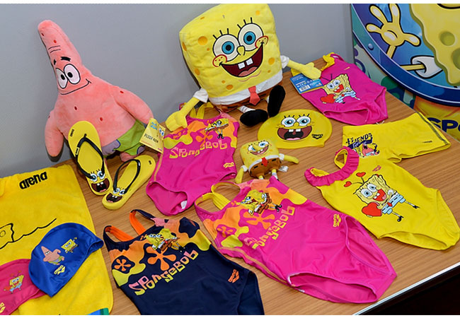 spongebob collection by arena