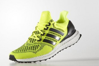 ultra boost adidas gialle