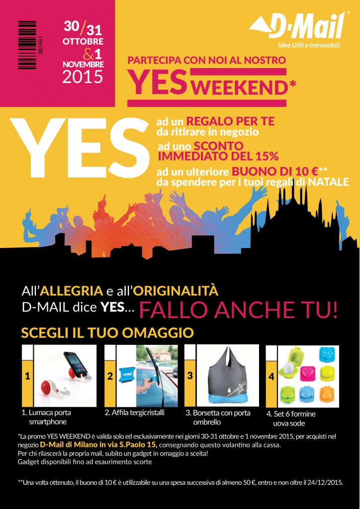 #yesweekendmail d-mail