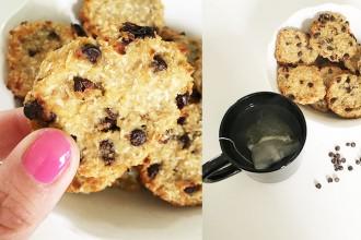 Biscotti senza burro, uova, latte, zucchero