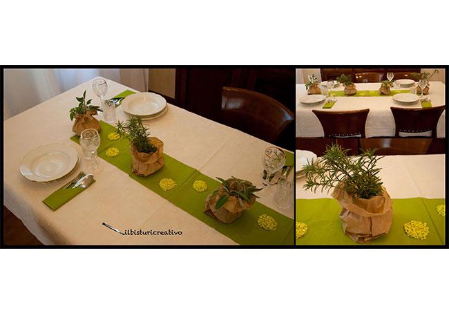 il bisturi creativo tavola apparecchiata fiori