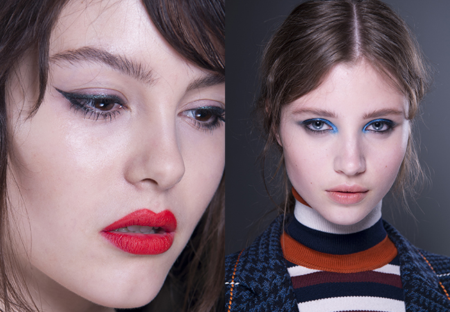 victoria beckham - estee lauder - Make up tendenze inverno - nude look - rossetti - blonde suite