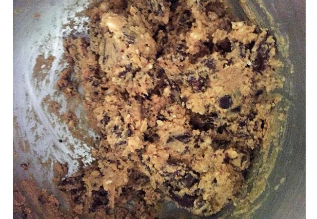 cookies cioccolato e nocciole ricetta
