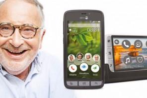 Doro il telefono per anziani semplice da usare