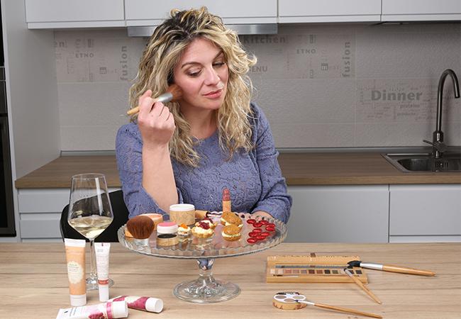 san valentino a casa - cosa cucinare - makeup - notte amore - blonde suite - innamorati - cooking paola - gorizia - couleur caramel
