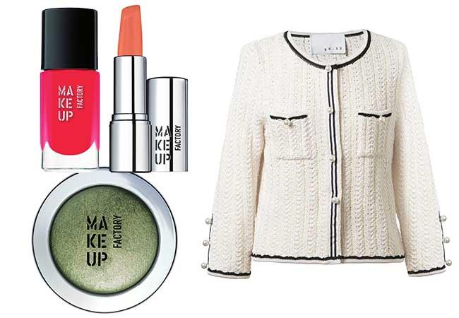trucco primavera - makeup primaverile - makeup factory, outfit - moda - blonde suite