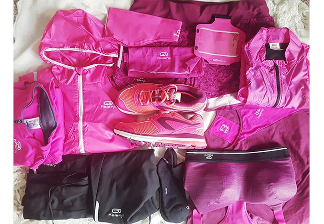 decathlon kalenjii outfit rosa correre 5 km milano navigli
