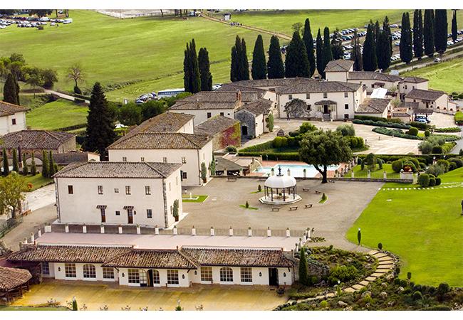 La bagnaia siena borgo spa campo da golf resort luxury