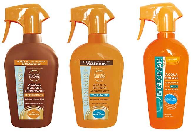 prodotti per l'estate - abbronzatura - abbronzanti - clinians - geomar