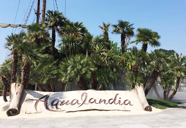 aqualandia jesolo parco acquatico a tema scivoli divertimento relax bunjee jumpink vanilla club