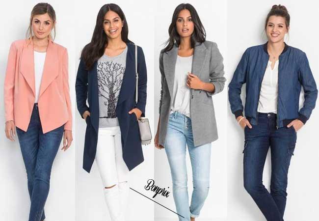 capispalla - come vestirsi a settembre - modelli autunno 2017 - low cost - bonprix - spolverino - giacca autunnale - giubbino di jeans - bomber moda