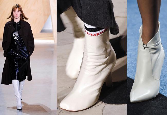 tendenze moda inverno stivali bianchi, stivali bianchi moda inverno