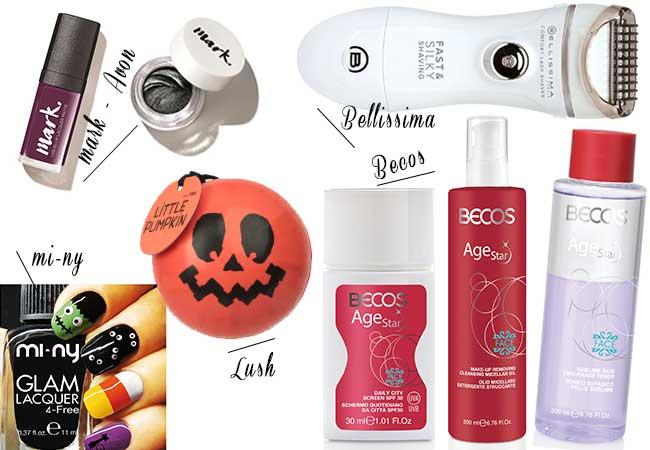ottobre prodotti detersione - lush - halloweek - trucco - bellissima - rasoio recensioni - mark avon - eyeliner