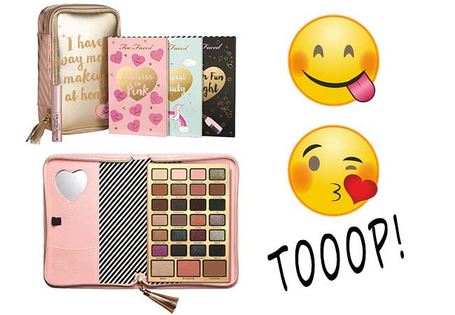 too faced - prezzo - kit natale - sephora