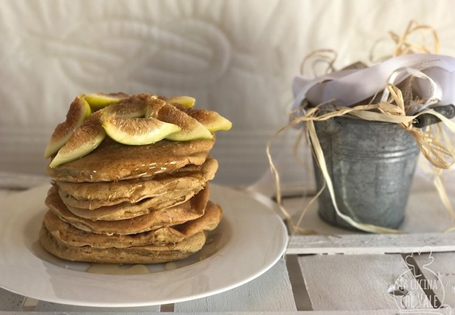 pancakes con fichi e miele la cucina che vale valentina tozza food ricette
