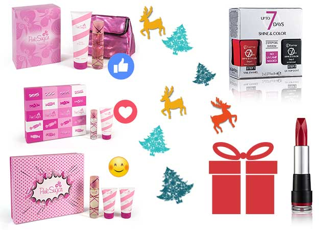 regali natale - blonde suite - aquolina - pink sugar