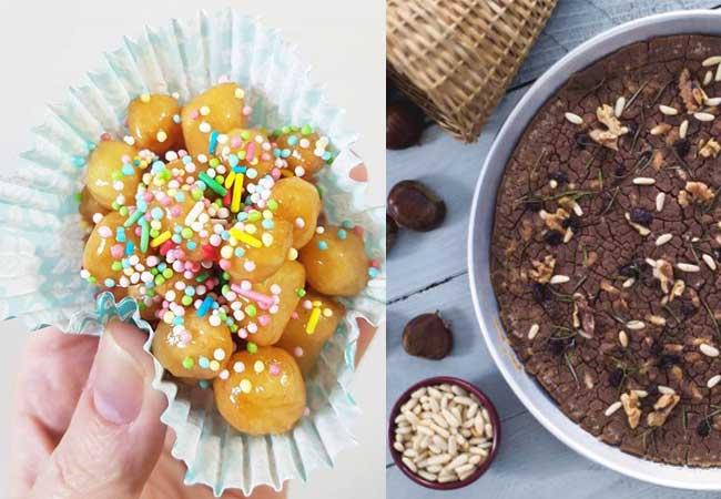 ricetta struffoli - ricette castagnaccio - blonde suite menu delle feste - menu natale - dicembre - ricette facili - blondesuite