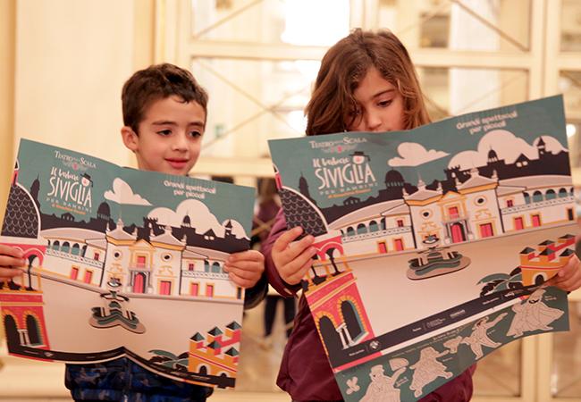 GIOTTO Colore Ufficiale Barbiere di Siviglia per Bambini
