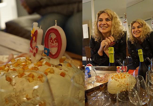 40 anni, festa per i 40 ann, festa compleanno, blonde suite
