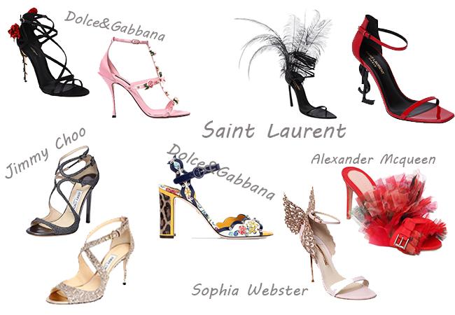 sandali alti scarpe per la primavera modelli lusso collezioni marche