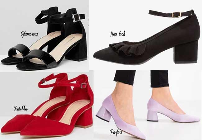 scarpe low cost sotto i 30 euro primavera estate tacco alto