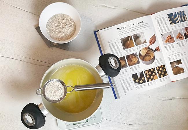 zeppole di san giuseppe ricetta festa del papà procedimento preparazione farina
