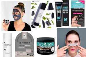 Prodotti al carbone vegetale per la pelle