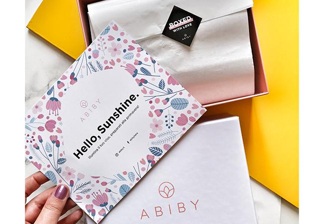 Abiby beauty box mensile in abbonamento trucchi mascara blush bellezza codice sconto