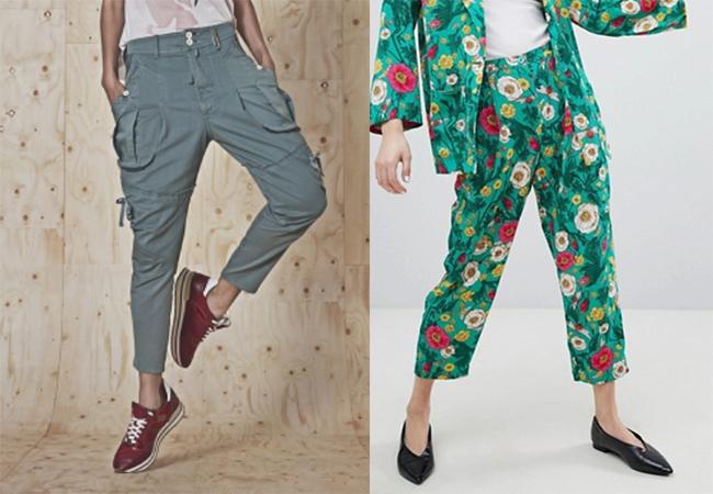 pantaloni alla caviglia moda estate 2018 tendenze modelli