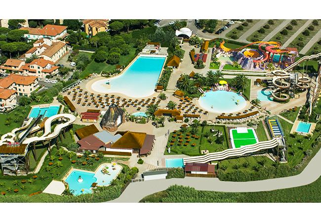 acqua village cecina parco acquatico scivolo 3d loko attrazioni piscina estate divertimento
