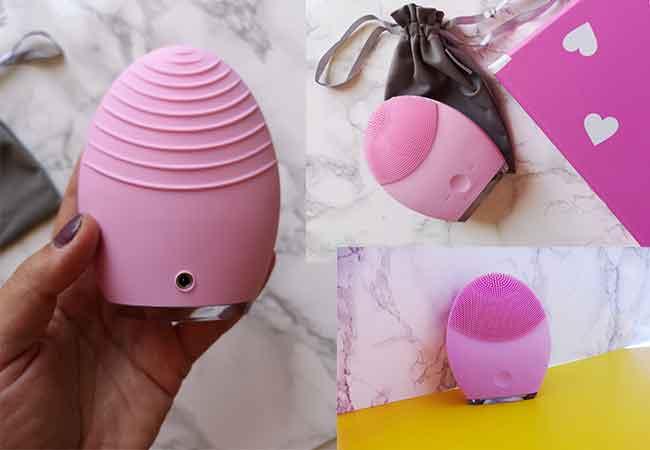 foreo strumento per detergere la pelle ricaricabile facile da usare