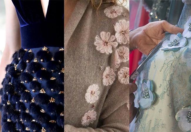 applicazioni sui vestiti fashion moda abiti