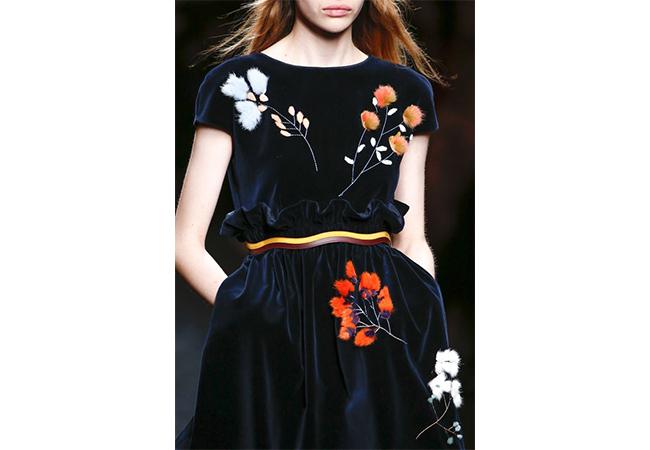 fendi 2016 applicazioni sui vestiti fashion moda abiti