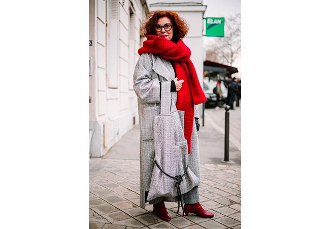 sciarpa rossa inverno freddo accessori