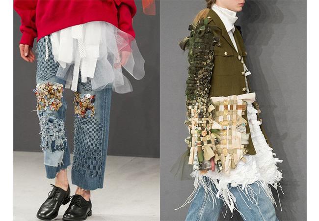 viktor &rolf 2016 applicazioni sui vestiti fashion moda abiti