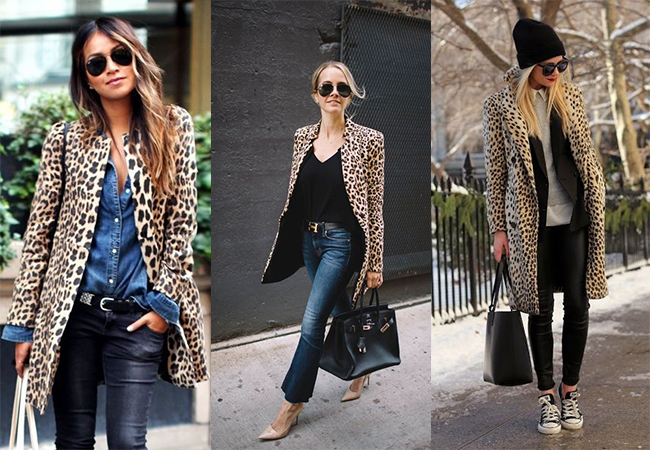 cappotto animal print