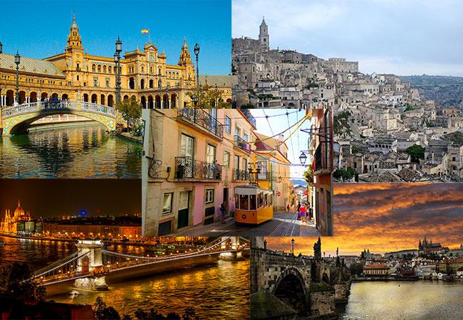 vacanza 5 mete per un weekend nel 2019 Siviglia Praga Budapest Matera Lisbona