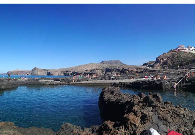 viaggio a gran canaria las salinas piscine naturali puerto de las nieves oceano atlantico