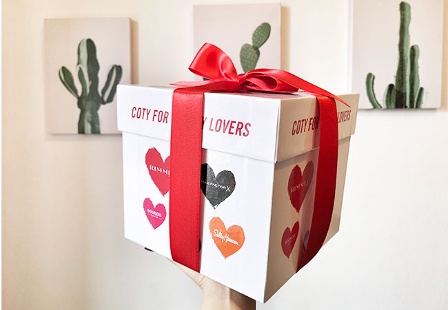 san valentino coty cosmetici beauty pacchetto.