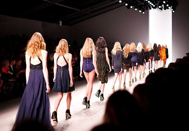 fashion week sfilata settimana della moda passerella modelle