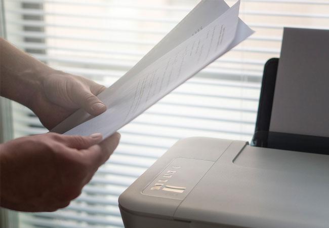 stampante fogli casa ufficio