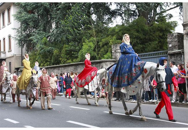 Palio di Legnano sfilata storica