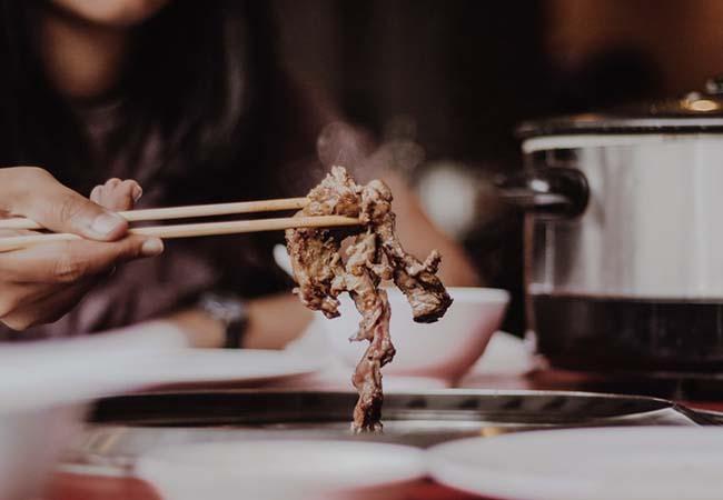 straccetti di manzo con zenzero verza e sakè cucina giapponese