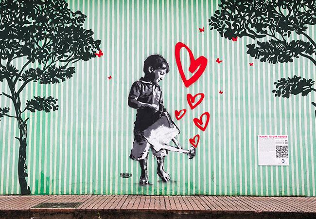 progetto street art autogrill murales alessio b stazione di servizio brembo somaglia