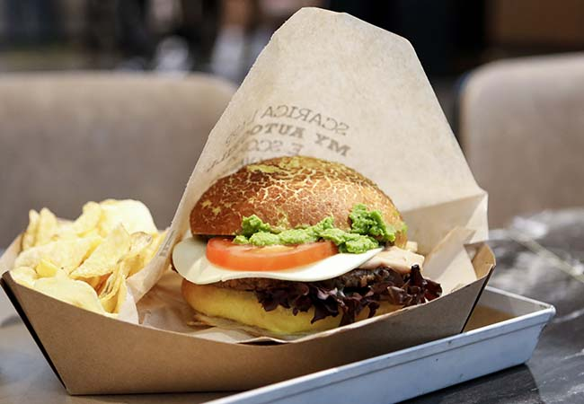 wowburger panino gourmet vegetale autogrill
